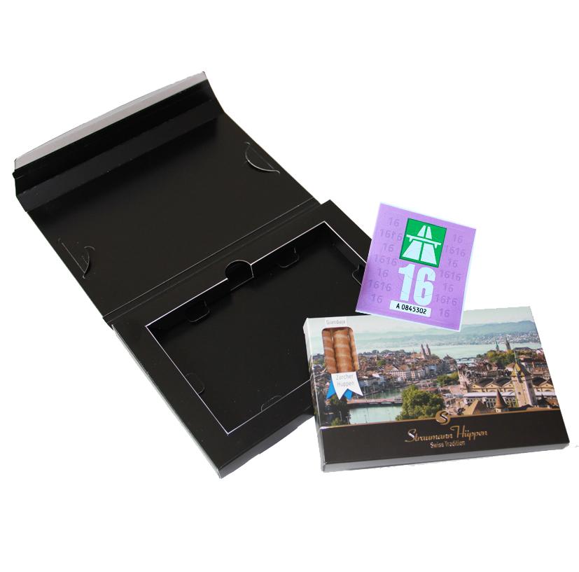 Straumann Hüppen Geschenk-Set Hüppen-Brief Autobahnvignette